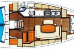 beneteau-clipper-39.3-layout