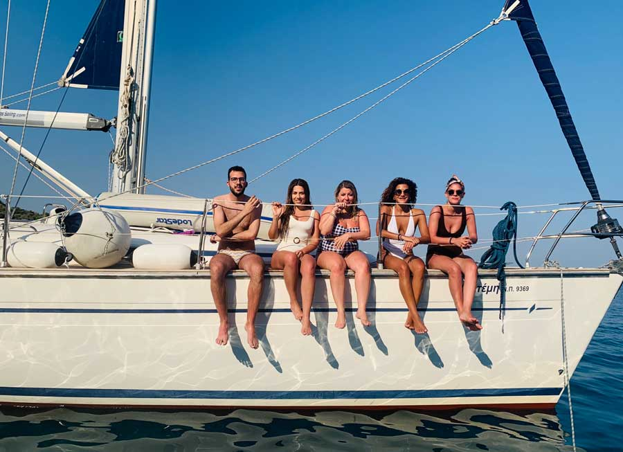 Day sailing cruise in Kavala and Thasos.