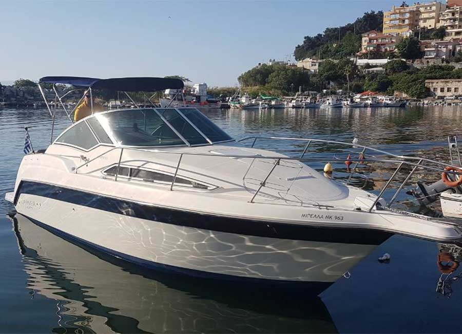 Speed boat cruise in Kavala and Thasos